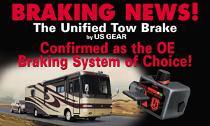 The Unified Tow Brake by US Gear is the OE Braking System of Choice